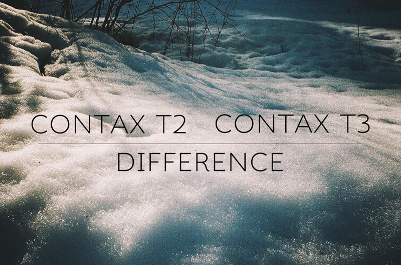 「【コンパクトフィルムカメラ】CONTAX T2とT3の違いはどこ?」のアイキャッチ画像