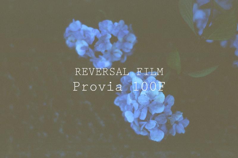 「リバーサルフィルム『FUJIFILM Provia 100F』がとても良かった」のアイキャッチ画像
