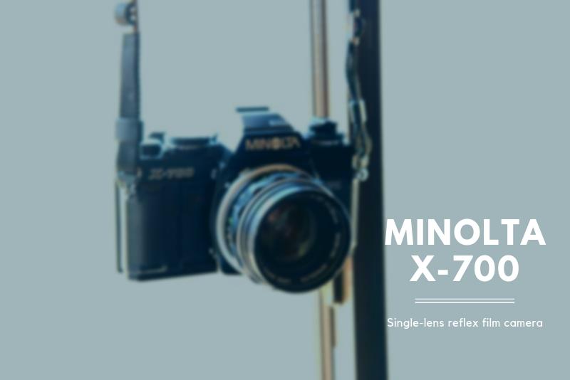 「フィルム一眼レフカメラ『MINOLTA X-700』の使い方と作例」のアイキャッチ画像