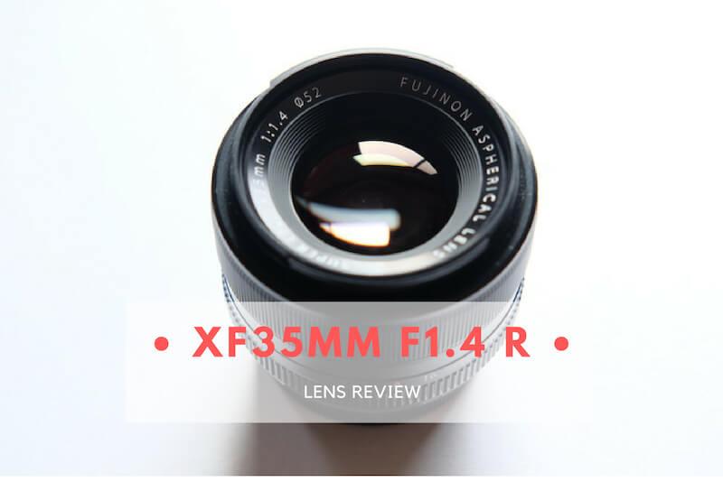 「【レビュー】FUJIFILMの名レンズ「XF35mm F1.4 R」」のアイキャッチ画像