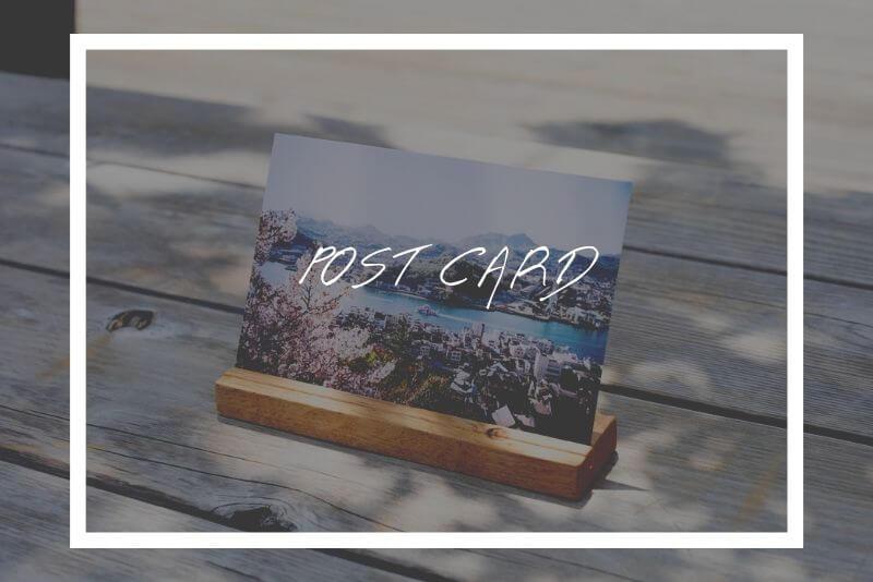 「【ラクスル】でフィルム写真のポストカードを作成しました」のアイキャッチ画像