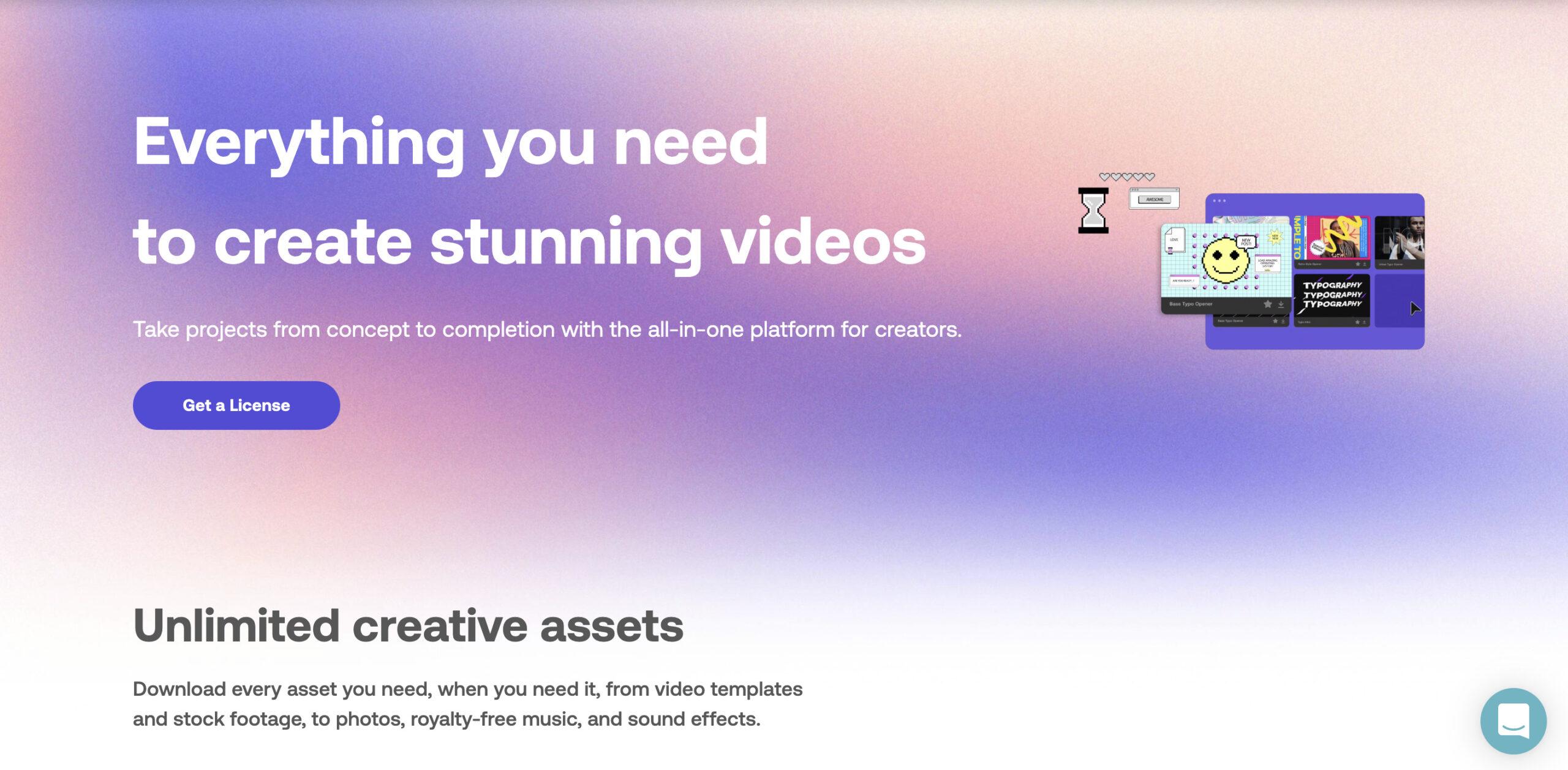 「【Motion Array】は手軽に映像のクオリティーを上げれるサービス!」のアイキャッチ画像