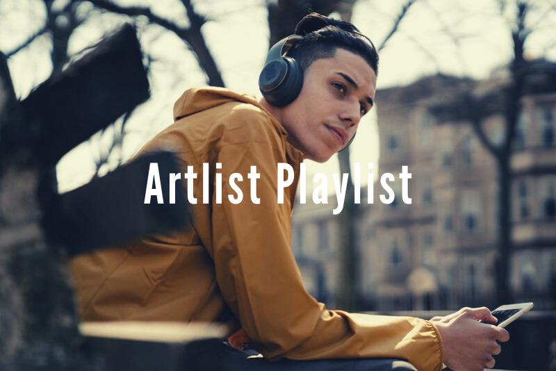 「動画用音楽サービス『Artlist』のジャンル別おすすめプレイリスト」のアイキャッチ画像